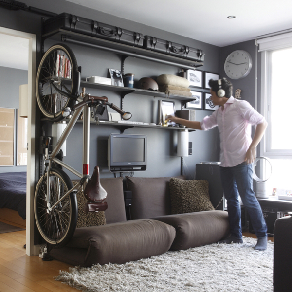 cool bicycle storage ideas