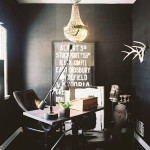 20 Inspiring Elegant Black Room Designs