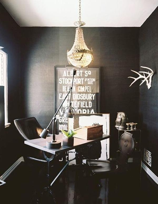 20 Inspiring Elegant Black Room Designs