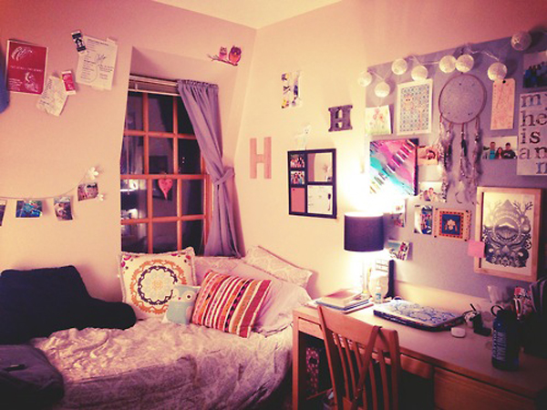 20 cool college dorm room ideas house design and decor for Cute dorm bathroom ideas
