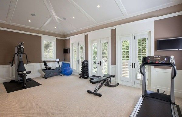 20 best home gym equipment designs house design and decor Home gym decor ideas