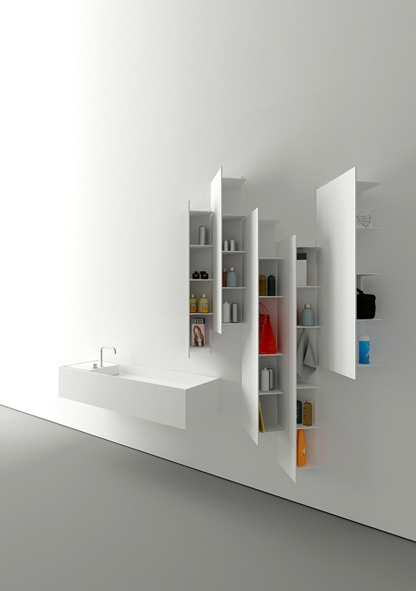 20 cool and modern bathroom accessories ideas house Modern bathroom wall art