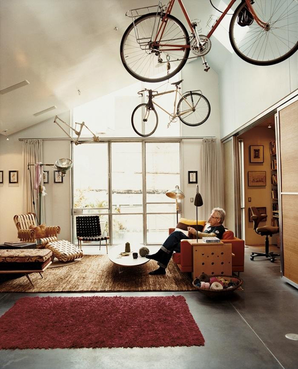Top 25 Bike Storage Solutions Into Your Home House Design And Decorrhhousetodecor: Bicycle Decor For Home At Home Improvement Advice