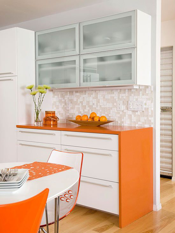 Modern Orange Kitchen Furniture