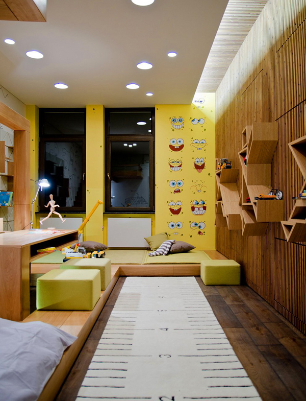 20 SpongeBob SquarePants Bedroom Theme Ideas | House Design And Decor