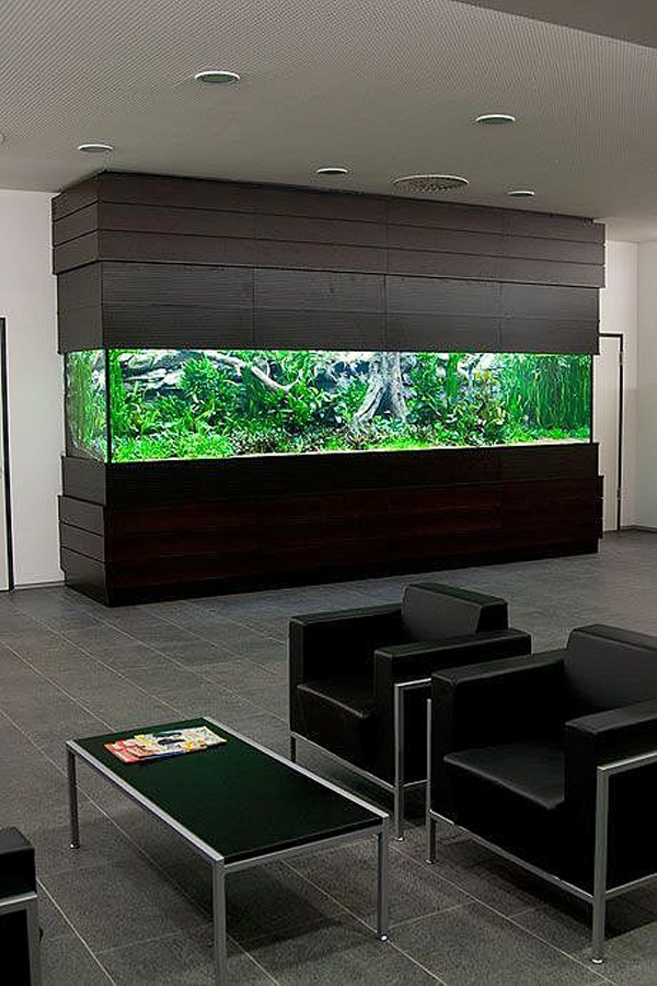 20 Modern Aquarium Design For Every Interior House