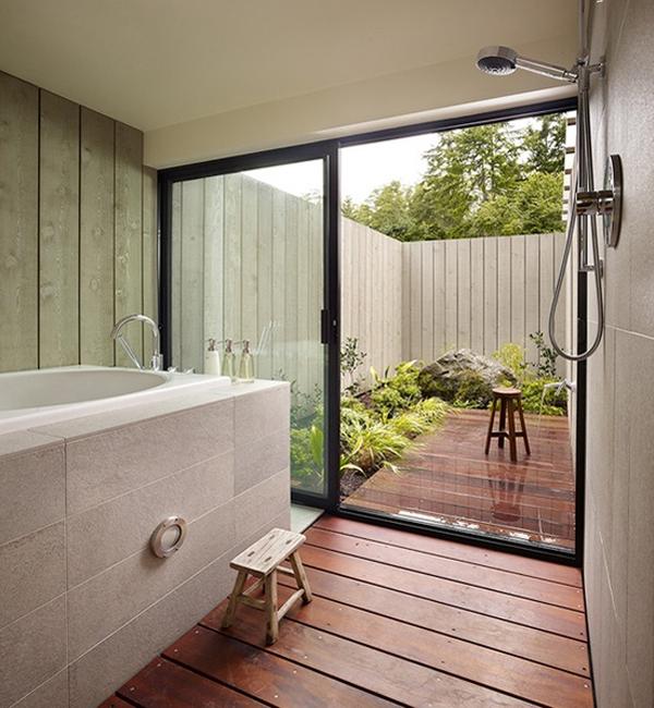 20 fresh outdoor shower and bathroom ideas house design for Outdoor bathroom designs