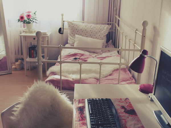 20 cool college dorm room ideas house design and decor Pretty room colors for girls