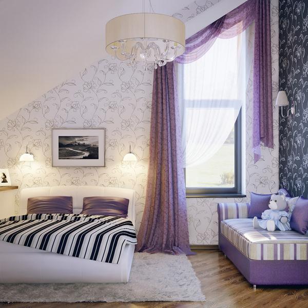 Girls Purple Bedroom Ideas: 10 Charming Teen Room With Purple Colors