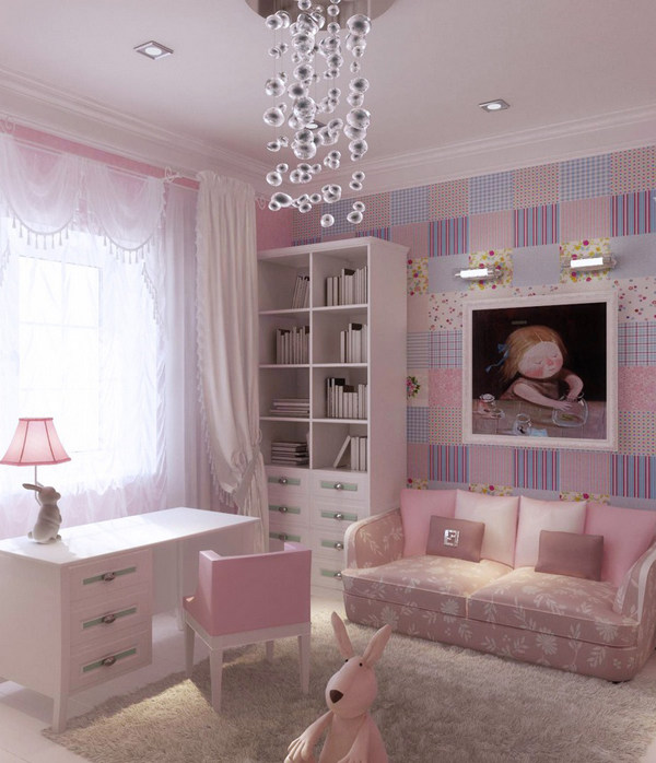 10 Charming Teen Room with Purple Colors