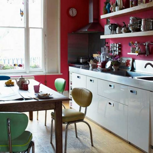 25 Inspiring Photos Of Small Kitchen Design: 25 Inspiring Retro Kitchen Designs