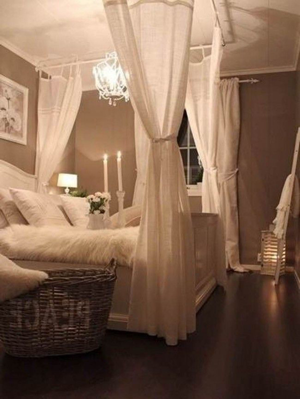 20 Best Romantic Bedroom with Lighting Ideas | House Design And Decor