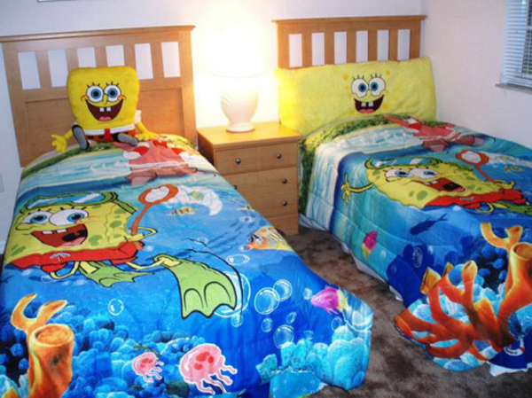 sponge bob themed bedrooms bedroom funny spongebob themed bedroom decorating ideas