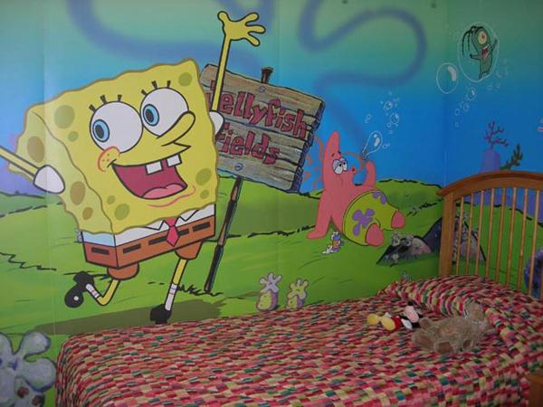 20 spongebob squarepants bedroom theme ideas house spongebob adventure comforter set size full 7 piece
