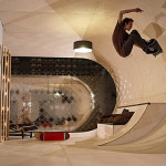 Cool Skateboard House In Malibu