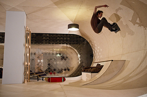 Cool Skateboard House In Malibu | House Design And Decor