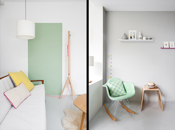 pastels furniture magpie squirrel pastel