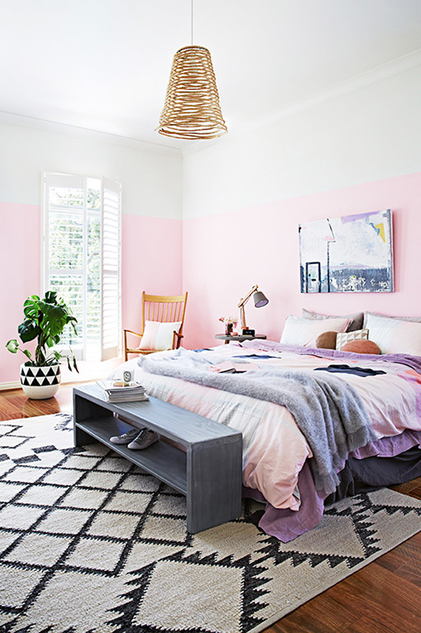 Pink Bedrooms with Soft and Feminine Touch