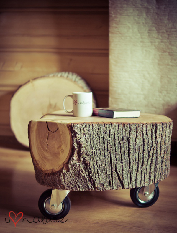 15 Creative Wood Coffee Tables