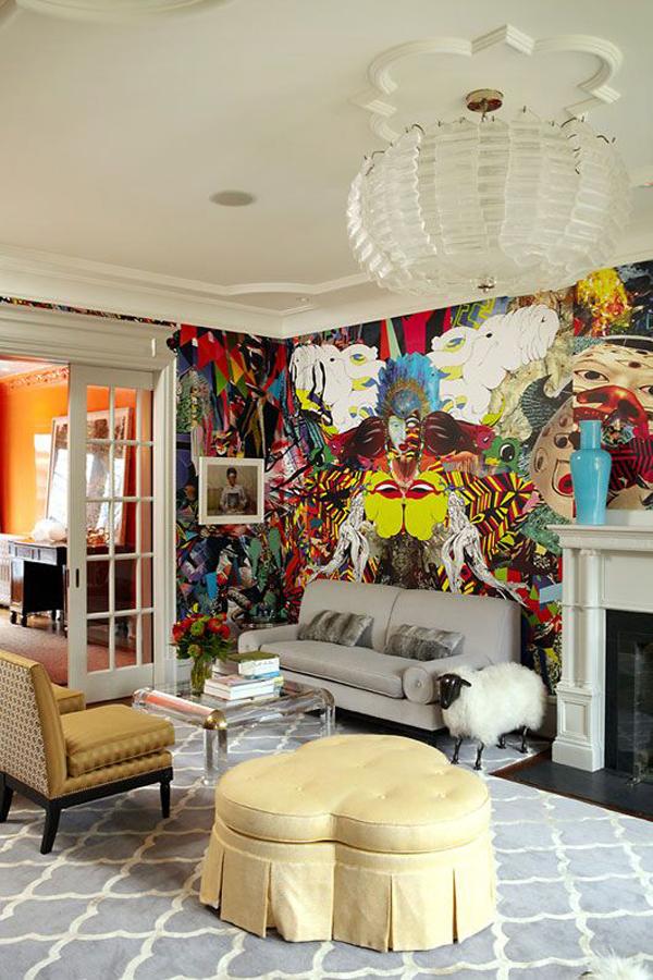 25 Cool Graffiti Wall Interior Ideas House Design And Decor