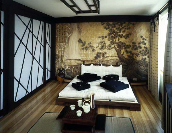 Exotic Asian Bedroom Ideas