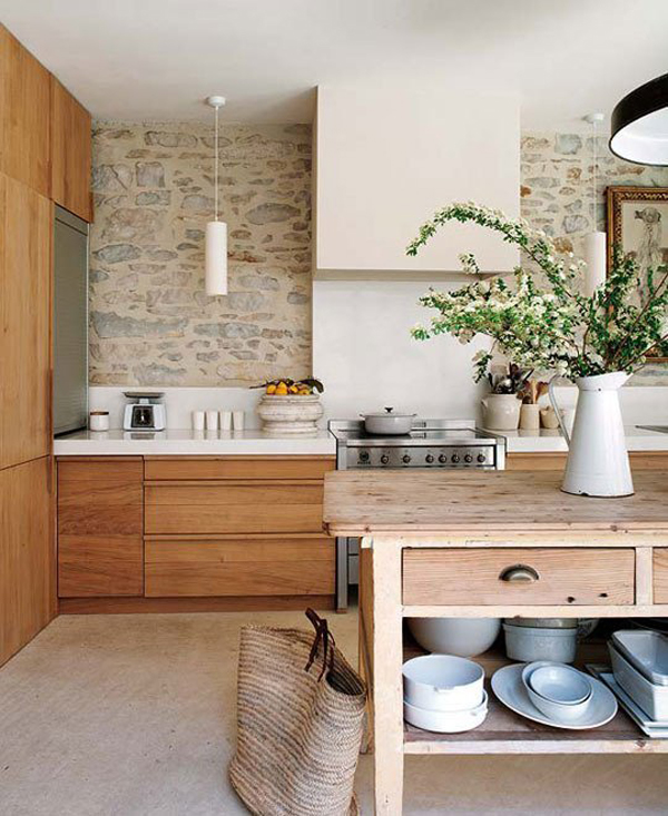 Rustic yet Modern Kitchen Designs House Design And Decor