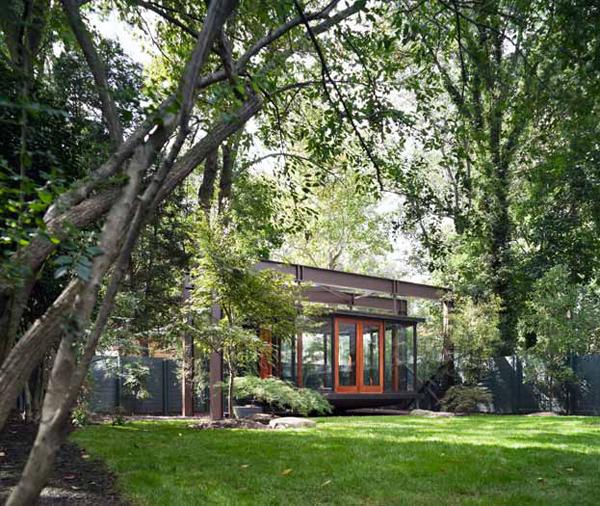 Tea House Design by David Jameson Architect