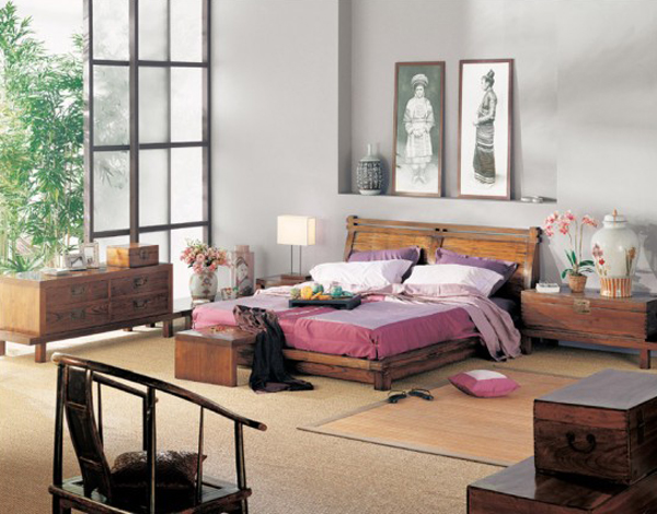 Traditional Asian Bedrooms