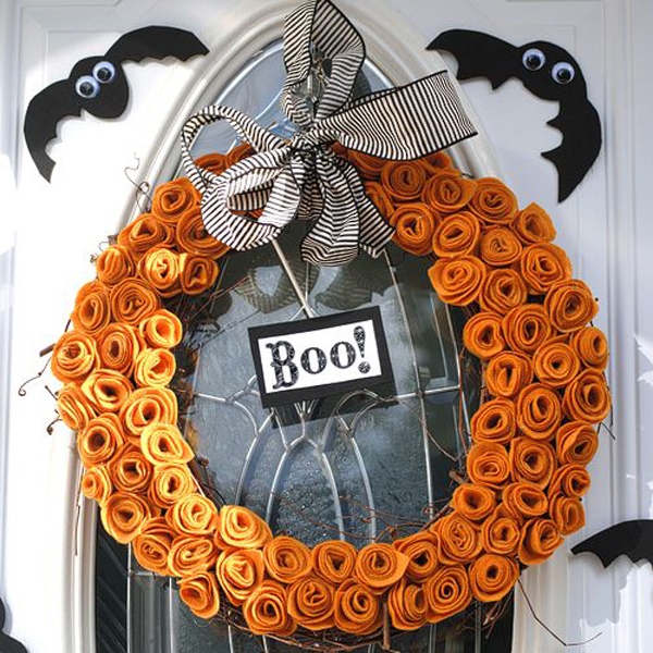 25 Awesome Halloween Wreath Ideas