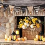 20 Beautiful Halloween Mantel Ideas
