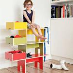 Bobby Kids Shelf with Dog Shapes