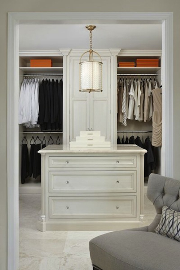 His and hers walk in closet designs trendy custom home for His and hers wardrobe