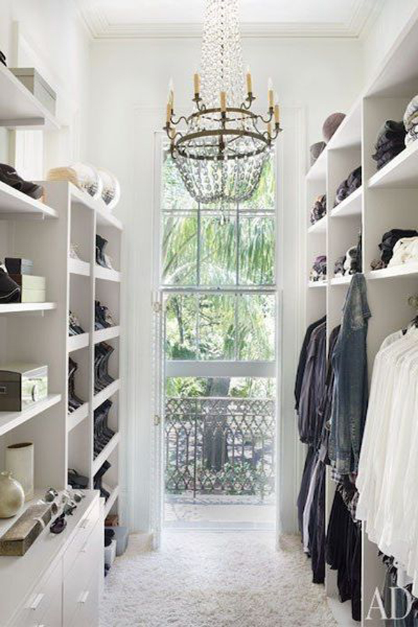 Natural Lighting Closet Ideas