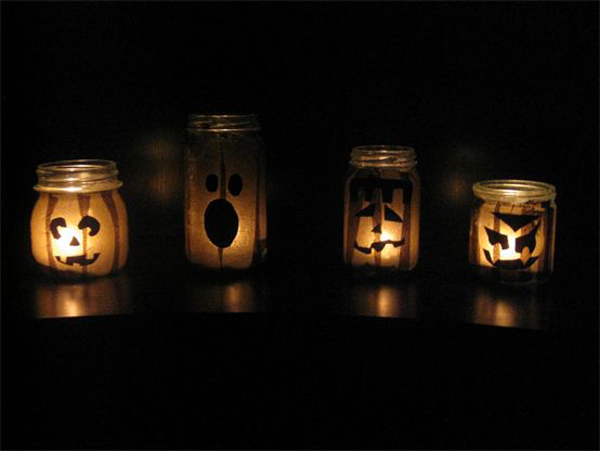10 Coolest Glowing Jack O Lantern Jars House Design And