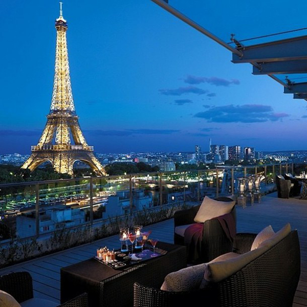 Balcony with eiffel tower view for Balcony with view