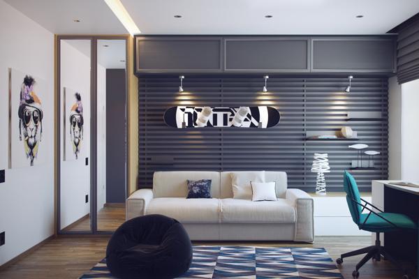 Cool Teenage Bedrooms by HQteam