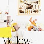 Inspiring Mellow and Yellow Kids Room