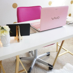 Pretty Home Office by Charmaine Manansala