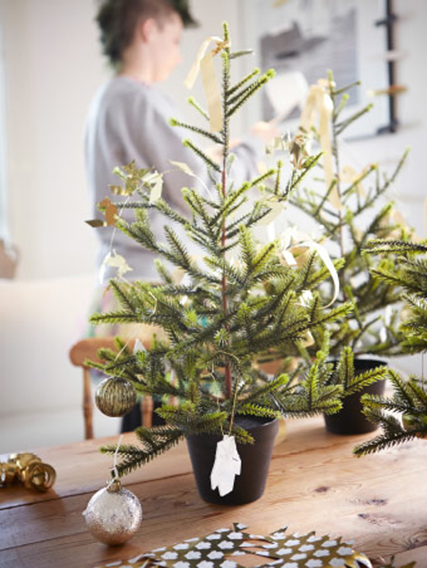 Ikea Weihnachtsbaum.Beautiful Christmas Ornaments From Ikea House Design And Decor