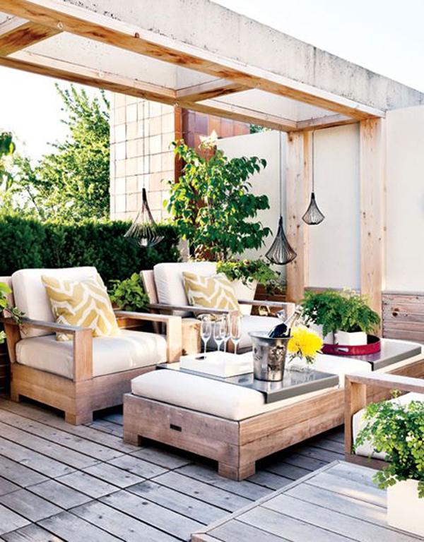 Beautiful Rooftoop Garden Decorations