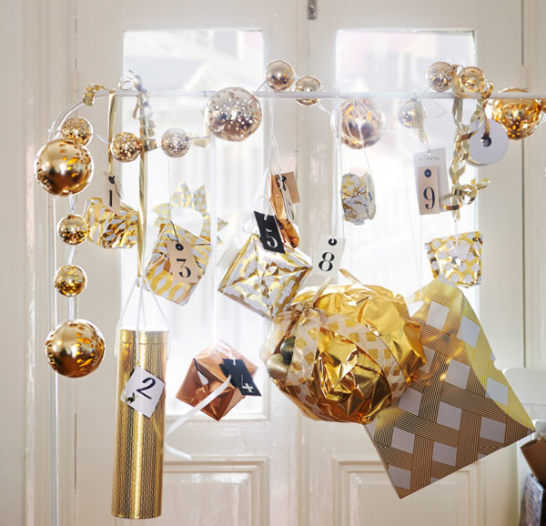 Beautiful Christmas Ornaments from IKEA