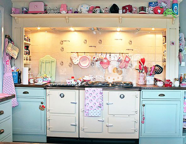 Cute Hello Kitty Kitchen Decoration