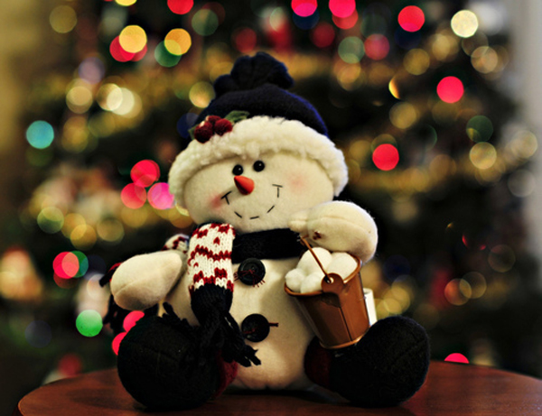 15 Cute Snowman Christmas Decorations House Design And Decor