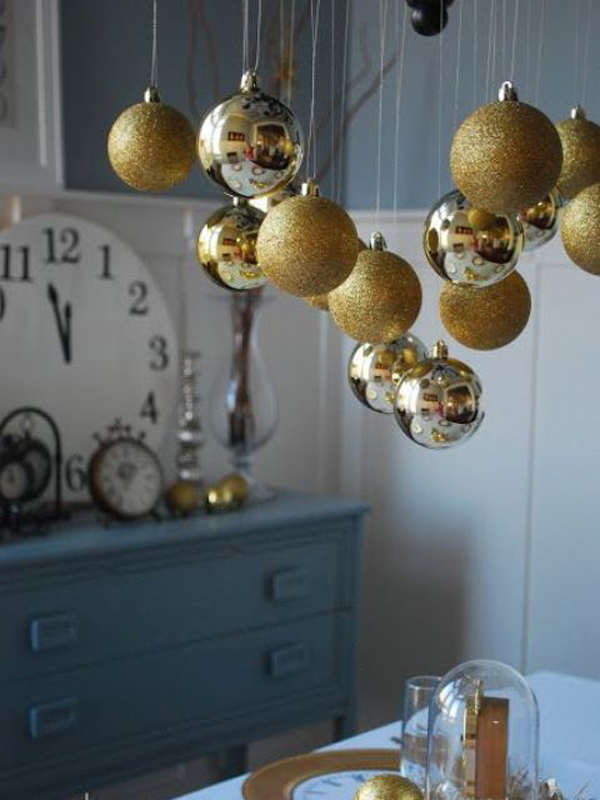 10 elegant gold christmas ideas house design and decor gold christmas ball aloadofball Images