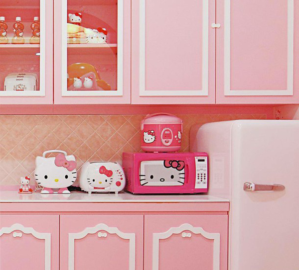 10 Adorable Hello Kitty Kitchen Ideas