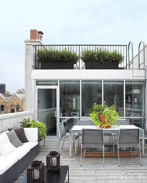Rooftop Garden Designs For Small Spaces: 20 Chic And Fun Roof Gardens