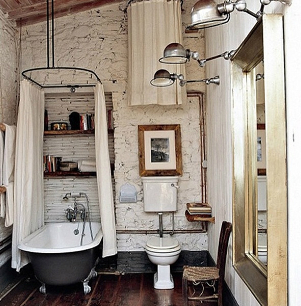 Industrial Bathroom Decorating Ideas 15 industrial vintage bathrooms | house design and decor