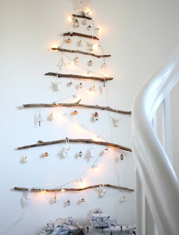 15 Creative Christmas Trees For Small House  House Design And Decor