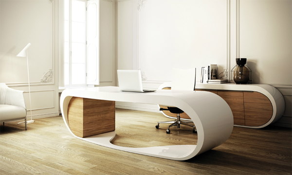 Black and White Google Desk from Danny Venlet