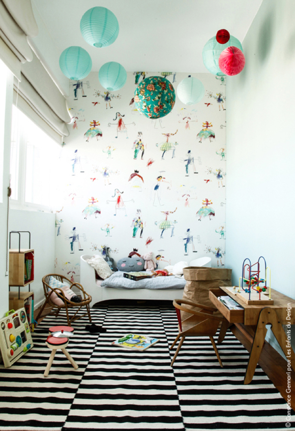 Inspirational Kids Room with Textile Collection